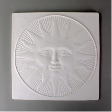Glass Texture Tile - Sun Face