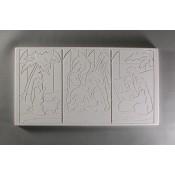 Glass Texture Tile - Nativity