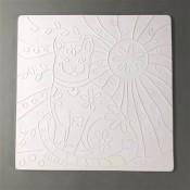 Glass Texture Tile - Cat