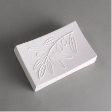 Olive Texture Soap Dish
