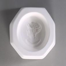 Cameo II/Flowers Glass Mold