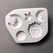 Little Fritter Glass Mold - Celestial
