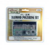 1 3/4 25 pc. Diamond Polishing Set
