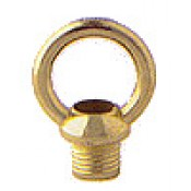 "Metal Loop Finial 3/4"" Male tap"