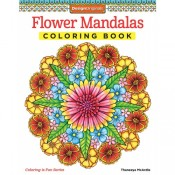 Flower Mandalas Pattern Book