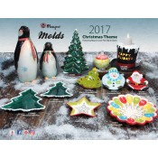 Mayco Molds Christmas & Halloween Theme Flyer