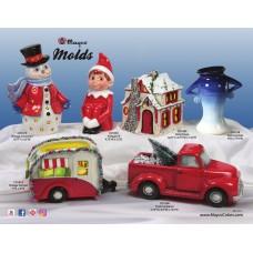 Mayco MC-414/E Molds Flyer - Holiday 2018
