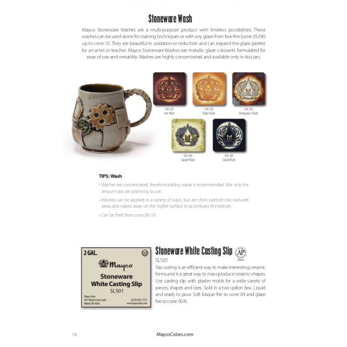 Mayco Stoneware Product Catalog (2017)