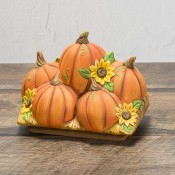 Acrylic Pumpkin Topper