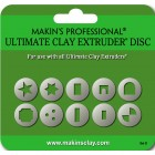 Ultimate Clay Extruder Discs - Set D