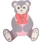 Tole Bear Clothes Hanger mold