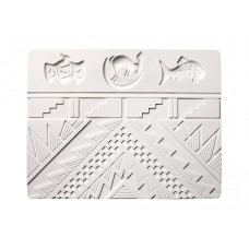 AMACO 32243R Mimbres Sprig and Texture Mold