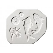 Koi Fish sprig mold