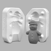 Snowman Castables Mold