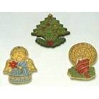 Angle, Candle, Tree Ornament mold