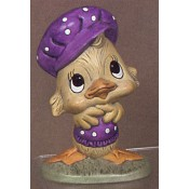 Duck with Hat mold
