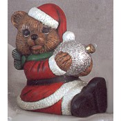 Christmas Bear with Ornament mold