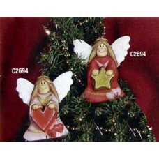Ceramichrome 2694 2 Country Angels #1 Mold