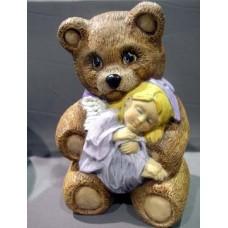 Ceramichrome 2696 Teddy Bear 'n Angel Mold