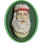 2 Tennis Santa Head Ornaments mold