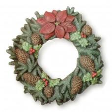 Ceramichrome 2731 Pine Cone Wreath Mold