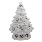 Large Dog Paw Mantel Tree with base
