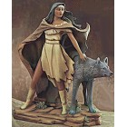 Indian Woman With Wolf (Front) Mold