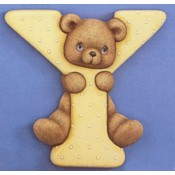Y Bear Plaque Mold