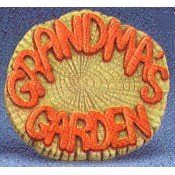 Grandma's Garden Log Slice Mold