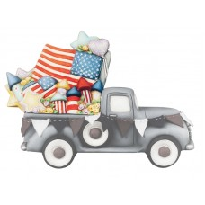 Clay Magic 4201 Patriotic Add-On Accessory For Pickup Truck 4102 Mold