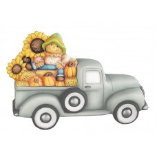 Clay Magic 4203 Scarecrow and Hay Bales Add-On Accessory For Pickup Truck 4102 Mold