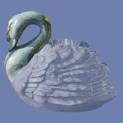 Sitting Swan Head Mold