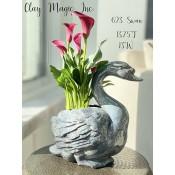Standing Swan Planter Mold