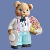 Boy Valentine Bear Mold