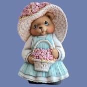 Girl Valentine Bear Mold