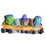 Happy Haunting Ghoilies Mold