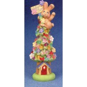Welcome Spring Bunny Tree Climber Mold