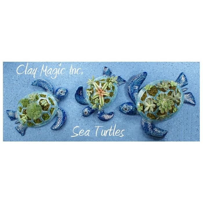 Clay Magic 3760 Large Sea Turtle Mold