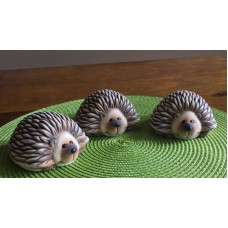 Clay Magic 3773 Gangbuster Hedgehogs Mold