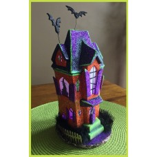 Clay Magic 3782 Glitter Townhouse Mold