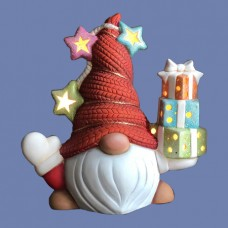 Clay Magic 4085 Hans, Medium Gnome with Gifts