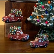 Gangbuster Truck with Tree Ornament Mold