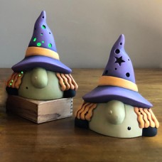Clay Magic 4148 Gangbuster Witch Gnome Mold