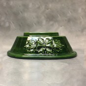 Medium Mantel Tree Bow & Holly Base Mold