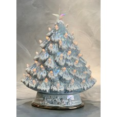 Clay Magic Small Mantel Tree Bisque