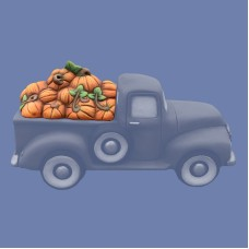 Clay Magic 4177 Pumpkin Lid For Pickup Truck 4102 Mold