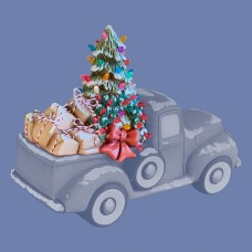 Clay Magic 4178 Christmas Tree For Pickup Truck 4102 Mold