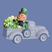 St. Patrick's Lid For Pickup Truck 4102 Mold