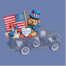 Clay Magic 4194 4th of July Lid For Pickup Truck 4102 Mold