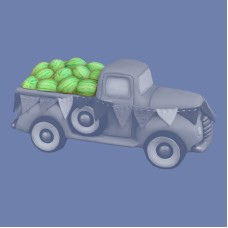 Clay Magic 4195 Watermelon Lid For Pickup Truck 4102 Mold